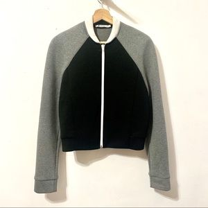 T by Alexander Wang• Neoprene bomber jacket